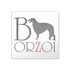 Borzoi Logo Sticker