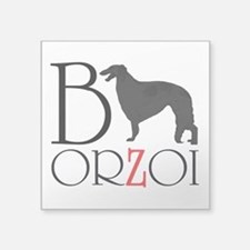 Borzoi Logo Sticker