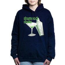 Shamrock Shake Woman's Hooded Sweatshirt