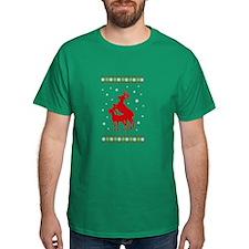 Busy Reindeer T-Shirt