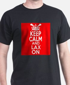 Keep Calm LAX On T-Shirt