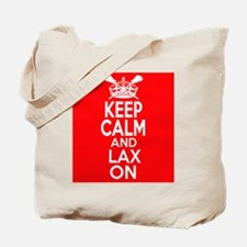 Keep Calm LAX On Tote Bag