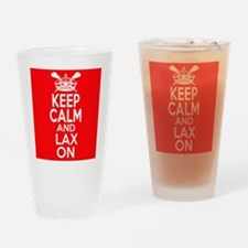 Keep Calm LAX On Drinking Glass