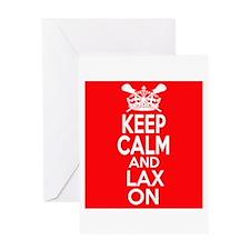 Keep Calm LAX On Greeting Card