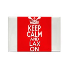 Keep Calm LAX On Rectangle Magnet