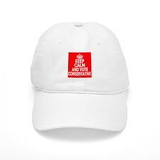 Keep Calm Conservative Baseball Cap