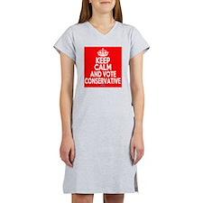Keep Calm Conservative Women's Nightshirt