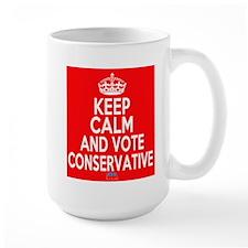 Keep Calm Conservative Mug