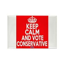 Keep Calm Conservative Rectangle Magnet