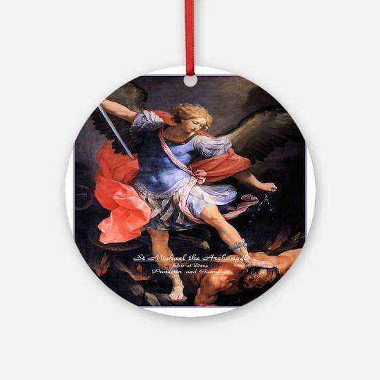 Saint Michael the Archangel Quis ut Deus Ornament