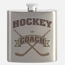 Cute Hockey christmas Flask