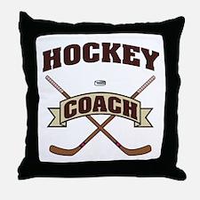 Cute Hockey lockout Throw Pillow