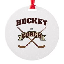 Cute Hockey lockout Ornament