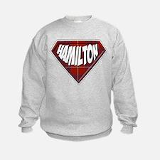 Hamilton Superhero Sweatshirt