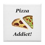 Pizza Addict Tile Coaster