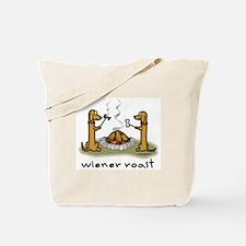 Wiener Dog Roast Tote Bag