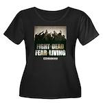 Fight The Dead, Fear The Living Women's Plus Size