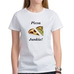 Pizza Junkie Women's T-Shirt