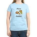 Pizza Junkie Women's Light T-Shirt