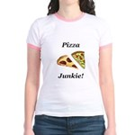 Pizza Junkie Jr. Ringer T-Shirt