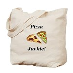Pizza Junkie Tote Bag