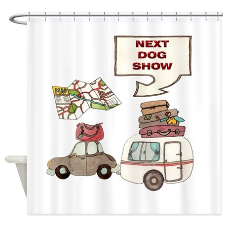 Next Dog Show Shower Curtain By Nextdogshow