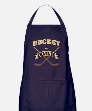 Hockey Goalie Apron (dark)