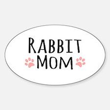 Rabbit Mom Decal