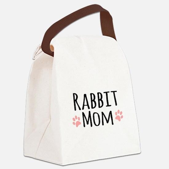 Rabbit Mom Canvas Lunch Bag