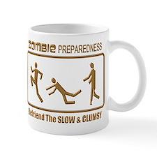 Zombie Preparedness Slow Bronze 3D Mugs