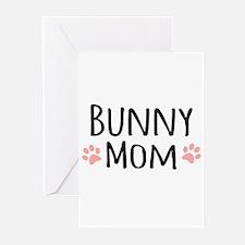 Bunny Mom Greeting Cards