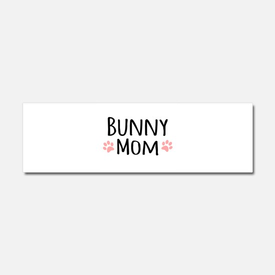 Bunny Mom Car Magnet 10 x 3
