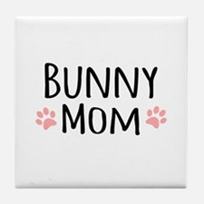 Bunny Mom Tile Coaster