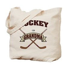 Hockey Grandma Tote Bag