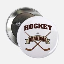 "Hockey Grandma 2.25"" Button"