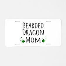 Bearded Dragon Mom Aluminum License Plate