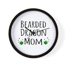 Bearded Dragon Mom Wall Clock