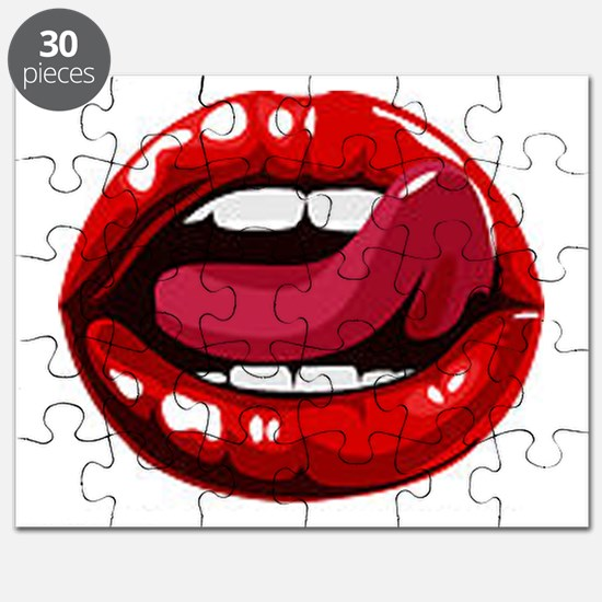 Red Lips Puzzle