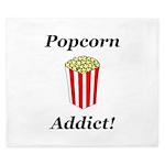 Popcorn Addict King Duvet