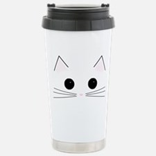 Cute Face Travel Mug