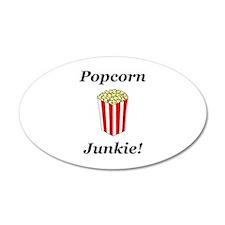 Popcorn Junkie Wall Decal