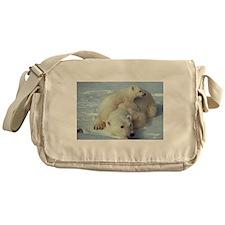 Polar Bear Messenger Bag