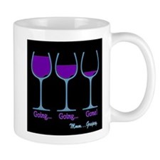Wine Going Gone Grapey 3D Mugs