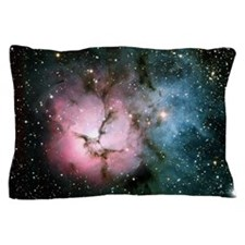 Nebula galaxy of stars in space hipste Pillow Case