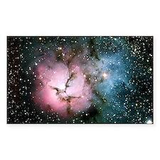 Nebula galaxy of stars in spac Decal