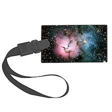 Nebula galaxy of stars in space  Luggage Tag