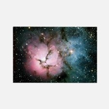 Nebula galaxy of stars in space h Rectangle Magnet