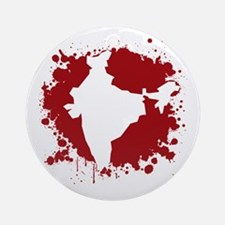 Blood of India Ornament (Round)