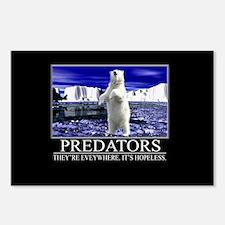 Predators Postcards (Package of 8)