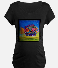 Tropical Fish Maternity T-Shirt
